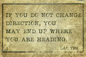 Change Direction Tzu
