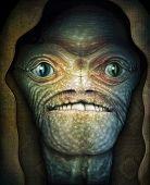 Shrouded Extraterrestrial