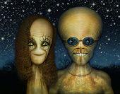 Extraterrestrial Couple
