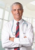 Male Medical Professional With Stethoscope