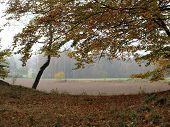 picture of bohemia  - view autumn landscape southern Bohemia  - JPG