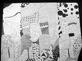 Black And White Diptych 2