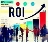 picture of revenue  - Return On Investment Financial Management Revenue Concept - JPG