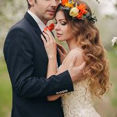 pic of bow tie hair  - Wedding couple - JPG