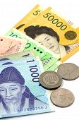 foto of won  - Current Use of South Korean Won Currency in Different value - JPG