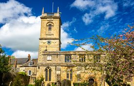 picture of magdalene  - St Mary Magdalene church in Woodstock Oxfordshire  - JPG