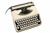 Old Cream Colored Typewriter