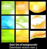 Abstract background set for design