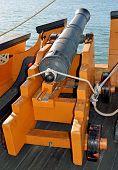 Old Naval Deck Gun