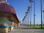 Beach sidewalk
