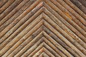 Rough Hewn  Wooden Background