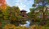 Beautiful Panorama View Of Ginkakuji Temple (silver Pavilion) Is A Landmark Zen Temple In Japan With poster