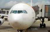 Nose Of Passenger Plane
