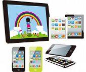 smart phones set