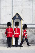 Changing Of Foot Guards At Governor General House