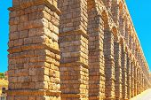 Aqueduct Of Segovia (or More Precisely, The Aqueduct Bridge) Is poster