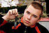 Teenager With Car Keys