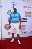 LOS ANGELES - MAY 7:  Dondre T. Whitfield arrives at the 5th Annual George Lopez Celebrity Golf Classic at Lakeside Golf Club on May 7, 2012 in Toluca Lake, CA