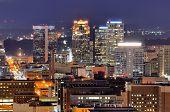 Skyline der Innenstadt von Birmingham, Alabama, Usa.