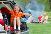 stock photo of boot camp  - Family adventure  - JPG