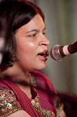 Pooja Angra Singing At The Exeter Respect Festival.