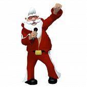 Santa - Elvis Impersonator
