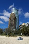 Gold Coast Beach Scene Surfers Paradise