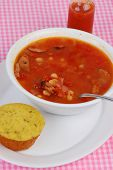 Cajun Soup And Cornbread