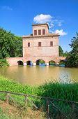 Abate Tower. Mesola. Emilia-Romagna. Italy.