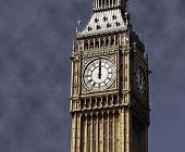 12 o'clock on Big Ben, London