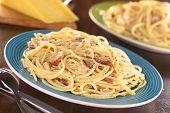 Spaghetti (Pasta) alla Carbonara