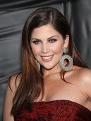 LOS ANGELES - OCT 06:  Hillary Scott (Lady Antebellum) arrives to the American Country Awards 2010