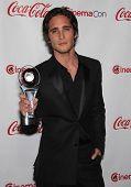 LAS VEGAS - APR 26:  Diego Boneta arrives afor the Cinema Con 2012-Final Night Awards  on April 26,
