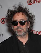 LAS VEGAS - APR 25:  TIM BURTON arrives for the Cinema Con 2012-Disney Luncheon  on April 25, 2012 i