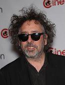 LAS VEGAS - APR 25:  TIM BURTON arrives for the Cinema Con 2012-Disney Luncheon  on April 25, 2012 i