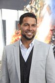 LOS ANGELES - MAY 10: Jon Huertas at the premiere of Universal Pictures' 'Battleship' at The Nokia T