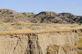 Makoshika State Park badlands formations