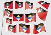 Bandera de Antigua y Barbuda