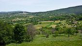 Landscape View of Bonnieux, France