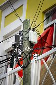 Tangled Utility Wires