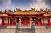 Santuario de Confucio fue construido por los residentes chinos de Nagasaki en 1893 y está todavía en territorio co