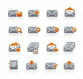 E-mail Icons // Graphite Series