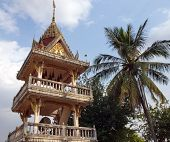 Bell Tower In A Buddhist Temple (2)