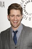 BEVERLY HILLS - MAR 16:  Matthew Morrison arriving at the 2011 PaleyFest honoring 'Glee' held at the