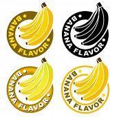 Banana Flavor Seal / Mark