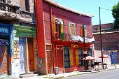 Colorful houses in Caminito Street in La Boca