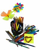 Stationery With Decorate