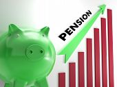 Raising Pension Chart Shows Personal Growth