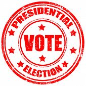 Presidential Election-stamp