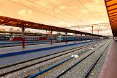 Nizhny Novgorod, Russia - August 27: Platforms In Moskovsky Rail Terminal On August 27, 2012 In Nizh